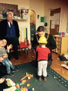 Lord Mayord Visit to Nursery 2015 (14)