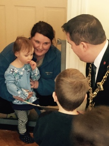 Lord Mayord Visit to Nursery 2015 (2)