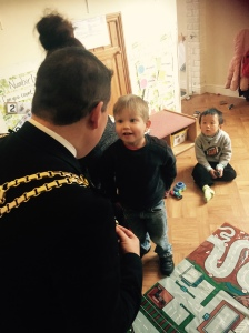 Lord Mayord Visit to Nursery 2015 (25)