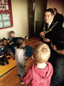 Lord Mayord Visit to Nursery 2015 (36)