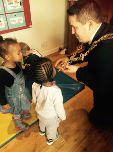 Lord Mayord Visit to Nursery 2015 (45)