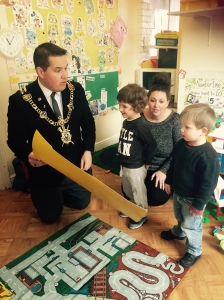 Lord Mayord Visit to Nursery 2015 (61)